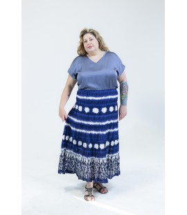 STYLE & CO PRINTED MAXI SKIRT 2X