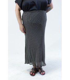 STYLE & CO PRINTED MAXI SKIRT 18W
