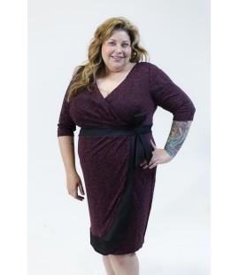 IGIGI Burgundy Lace Dress Size 18/20