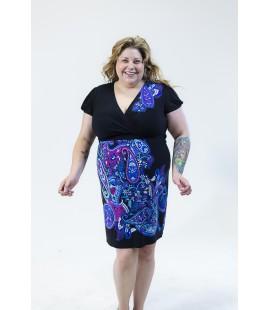 Lane Bryant Dress Paisley Print Size 18/20