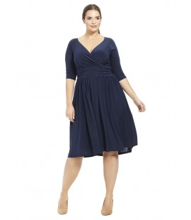 IGIGI STEPH DRESS NAVY SIZE 18/20