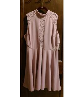 Fashion To Figure Lace Inset Flare Dress Size 3X