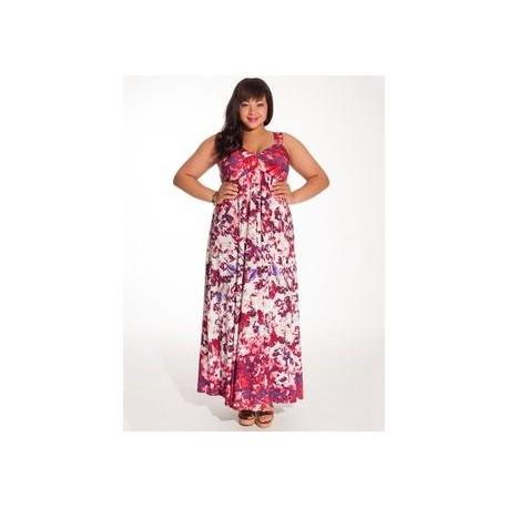 IGIGI Avril Sleeveless Maxi Dress with Matching IGIGI Shrug Size 18/20