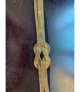 Torrid Gold Mesh Belt Size 3 (22/24)