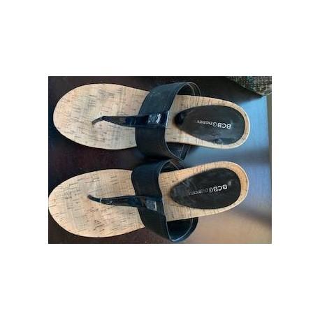 BCBG Wedge Sandal Size 11