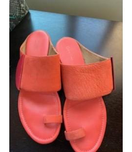 Calvin Klein Tangerine Sandals Size 11